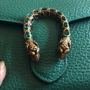 Gucci Bags - Gucci Dionysus wallet on chain in green